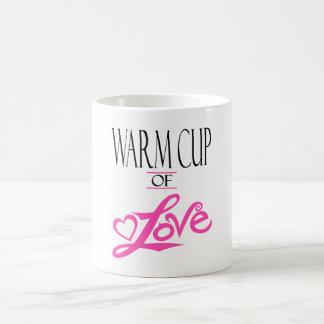 Taza caliente de taza del amor