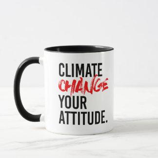 Taza CAMBIO de CLIMA SU ACTITUD - - Favorable-Ciencia -