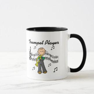 Taza Camisetas y regalos del jugador de trompeta