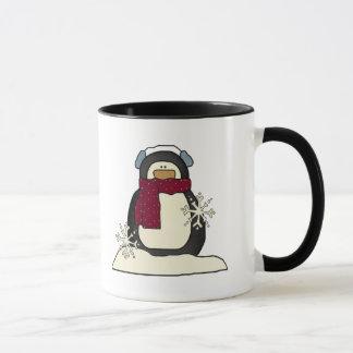 Taza Camisetas y regalos del pingüino de los niños
