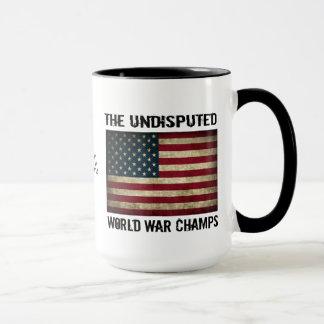 Taza Campeones indiscutibles de la guerra mundial -