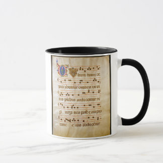 "Taza canto manuscript.jpg, canto gregoriano: El ""cutt…"