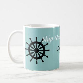 Taza - capitán de la nave