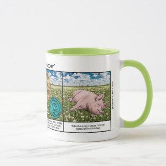 Taza Cerdo en trébol