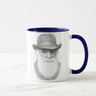 Taza Charles Darwin - cita adaptable