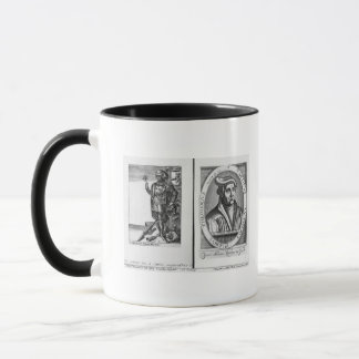 Taza Charles Martel y Martin Luther