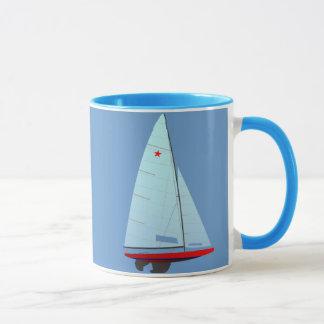 Taza Clase   de la estrella que compite con el velero