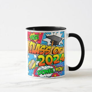 Taza Clase del cómic 2024
