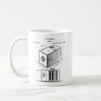 Taza clásica de la cámara de caja