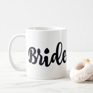 taza clásica de la novia de 11 onzas
