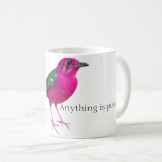 Taza clásica del café de PinkBirdz