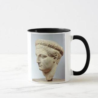 Taza Claudius, cabeza de mármol, ANUNCIO 41-54