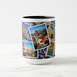 Taza Colección del viaje de Lisboa