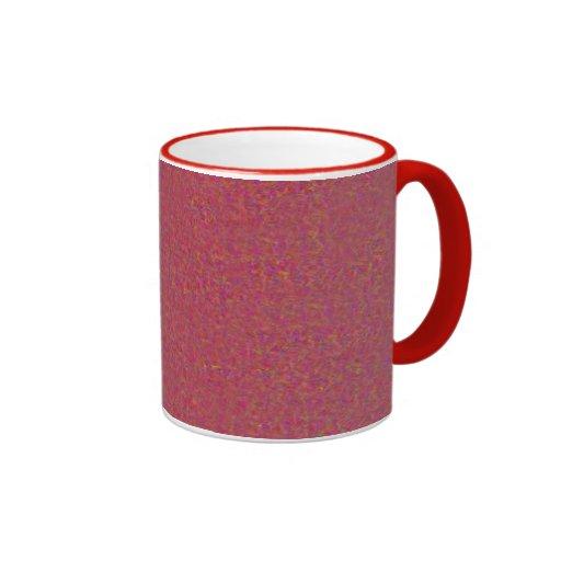 Taza color de rosa del granito