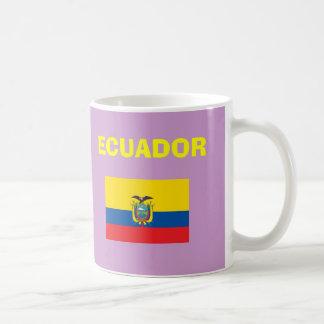 Taza colorida de la EC Ecuador