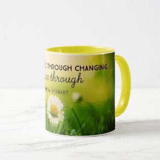 Taza Con el cambio