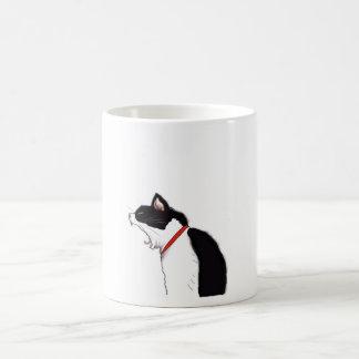 taza con el gato