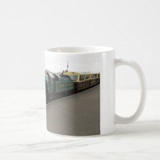 Taza con la locomotora de vapor (Dungeness)