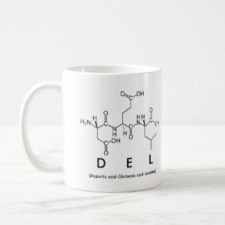 Taza conocida de Del peptide