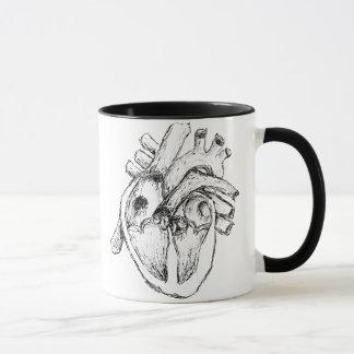 Taza Corazón humano