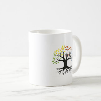 Taza cristiana del color del árbol de la beca de