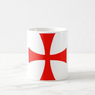Taza cruzada de Templar de los caballeros -