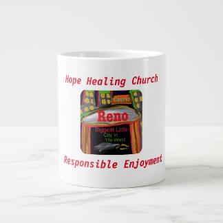 Taza curativa de la taza de café de la iglesia de