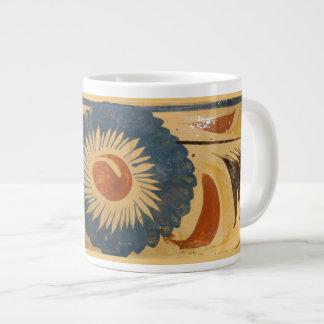 taza de 15 onzas con imagen mexicana de la