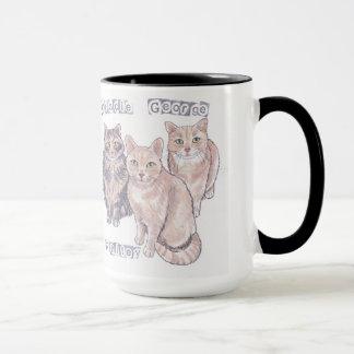 Taza de 3 gatitos