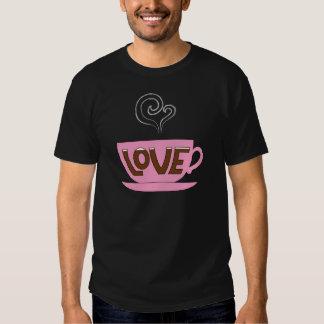 Taza de amor camiseta