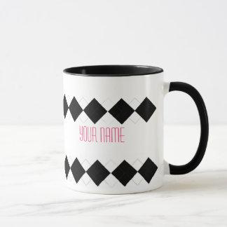 Taza de Argyle - personalizada