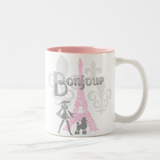 Taza de Bonjour París 2
