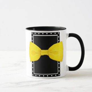 Taza de Bowtie del limón