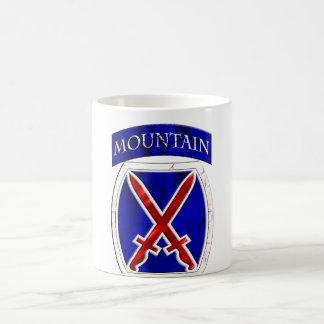Taza De Café 10mo División de la montaña