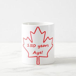 Taza De Café 150 años de Canadá