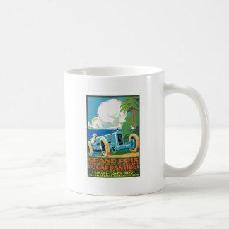 Taza De Café 1929 casquillo D'Antibes Grand Prix que compite