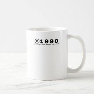 TAZA DE CAFÉ 1990
