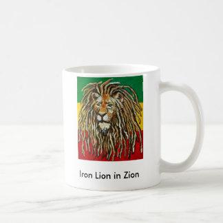 Taza De Café 1, león del hierro en Zion