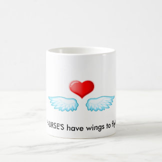 Taza De Café ¡2009111418528, ENFERMERA tienen alas a volar!