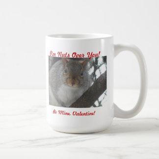 Taza De Café ¡2011-01-25 008, soy Nuts sobre usted! , Sea los