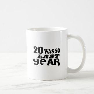 Taza De Café 20 estaban tan así que el año pasado los diseños
