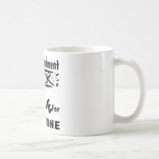 Taza De Café 2do Cerradura y carga E clasificada de la enmienda