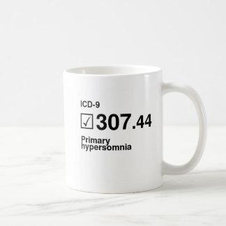 Taza De Café 307,44, hypersomnia primario