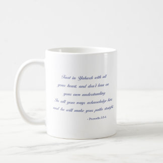 Taza De Café 3:5 de los proverbios - lavanda del verso el   de