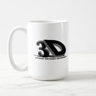 Taza De Café 3D - Destinado y resuelto dinámicos