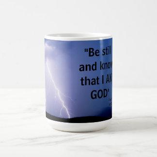 Taza De Café 46:10 del salmo