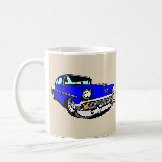 Taza De Café 57 Bel Air azul marino