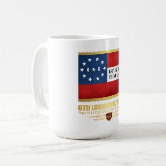 """Taza De Café 6to Infantería """"irlandesa"""" de Luisiana"""