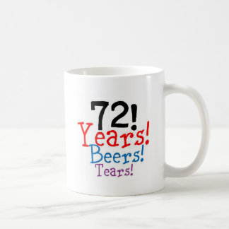 Taza De Café 72 años de rasgones de las cervezas