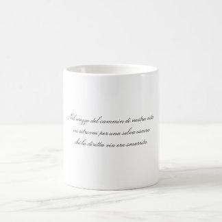 Taza De Café A medio camino con el viaje de nuestra vida